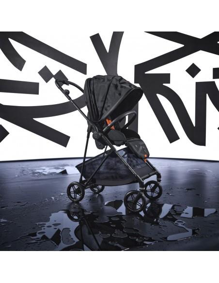 Cybex Carrinho de Bebé MELIO STREET Real Black   black