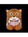 AFFENZAHN Mochila Infantil Gato 31cm